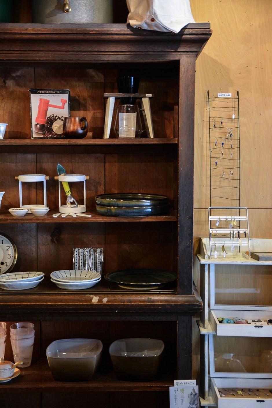 magasin et café collabon à Kanazawa