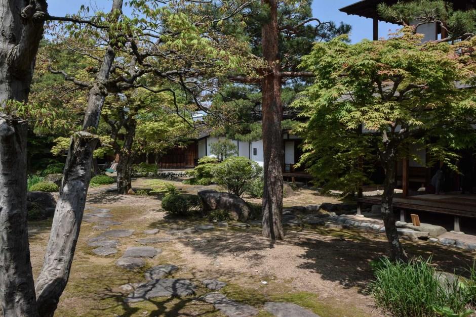 Le Takayama Jinja à Takayama, dans les alpes japonaises, Japon