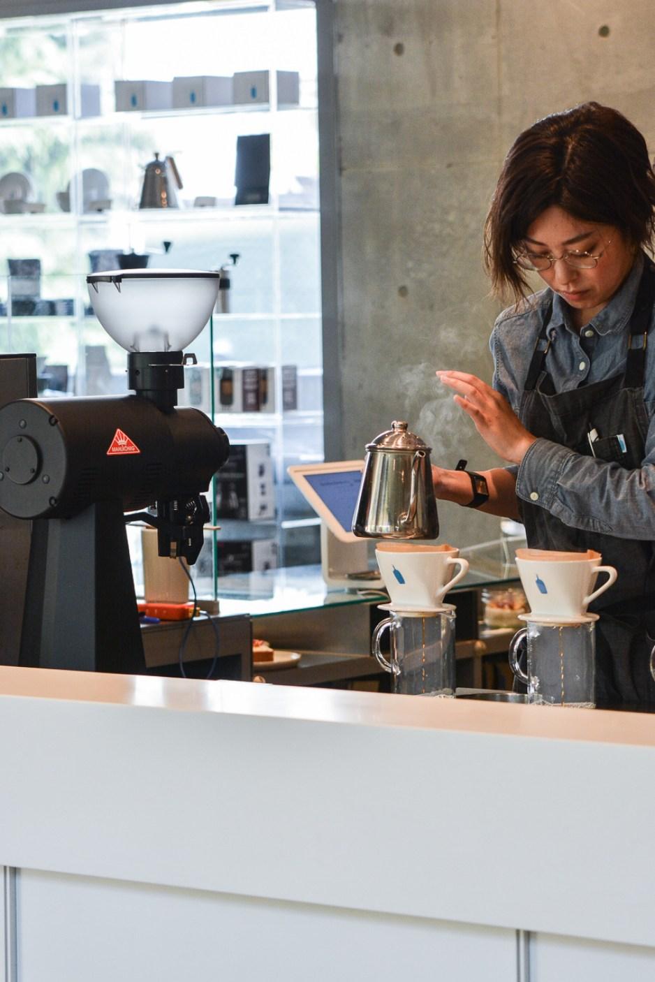 voyage japon tokyo blue bottle coffee aoyama
