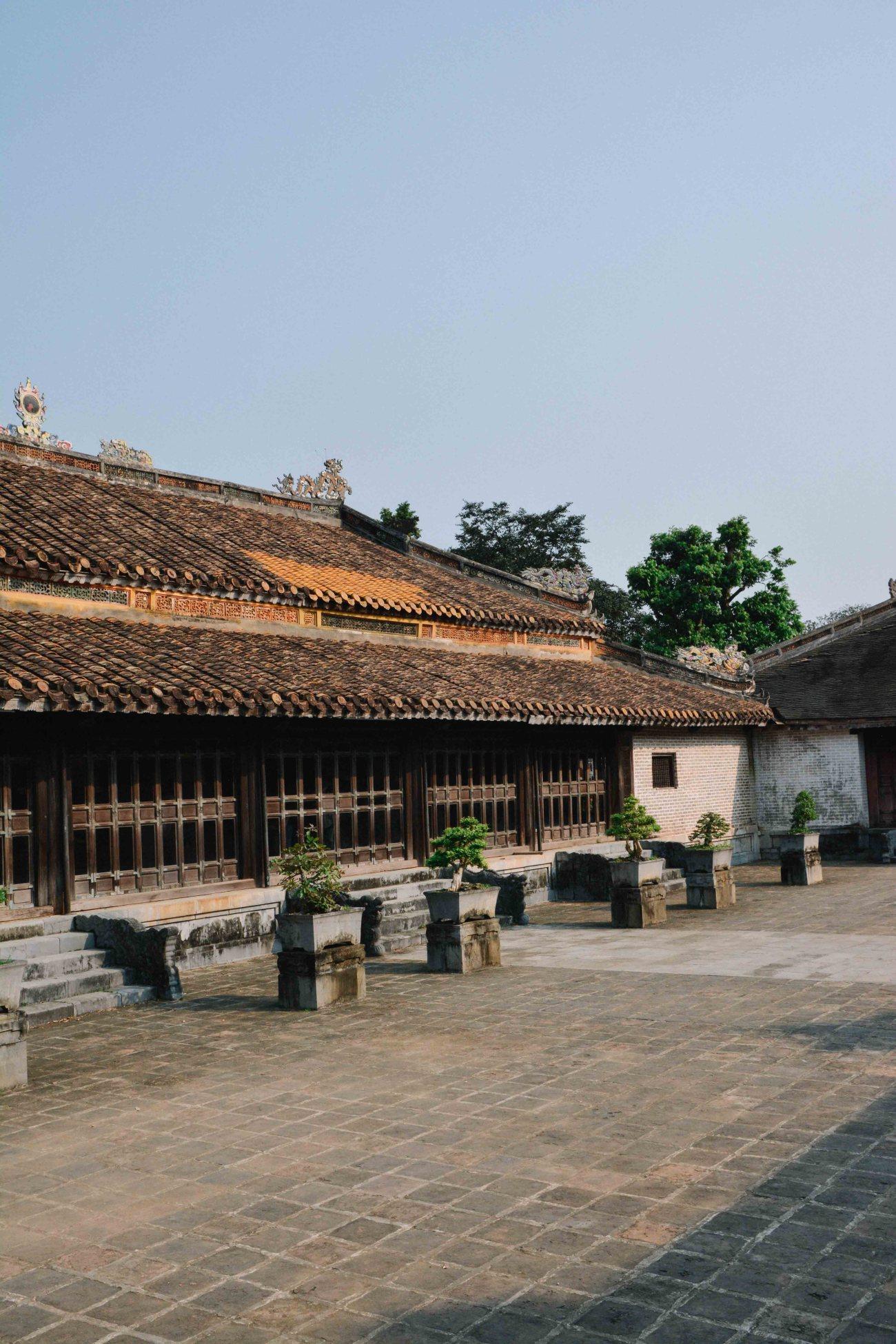 Le tombeau Tu Duc à Hué au Vietnam