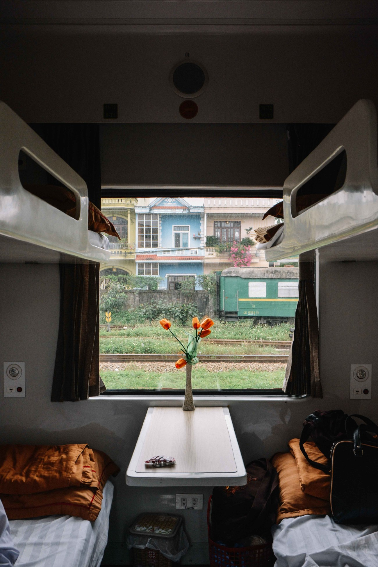 le train couchette Hanoi-Hué