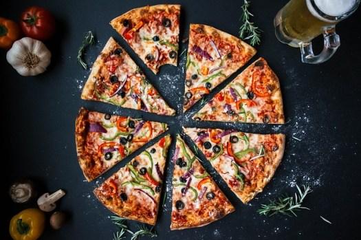 pizza saine