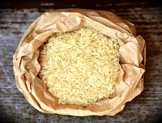 sac de riz blanc
