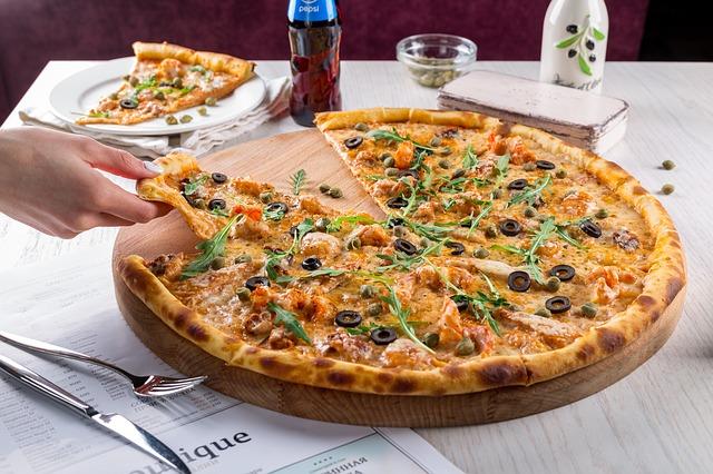 pizza rééquilibrage alimentaire