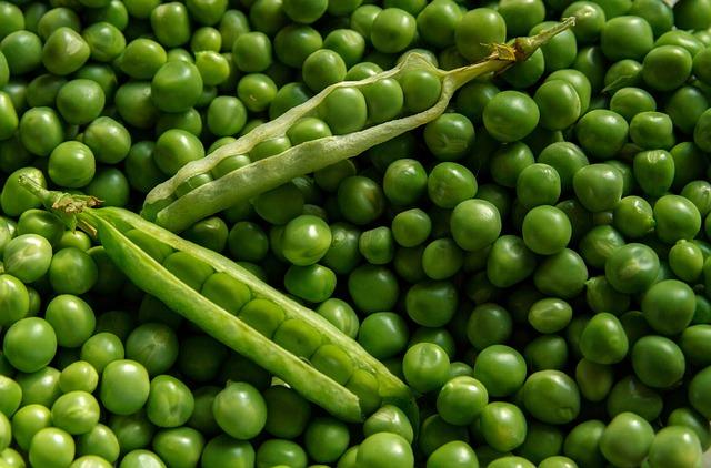 petit pois verts