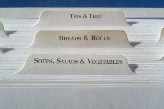 livret de recette