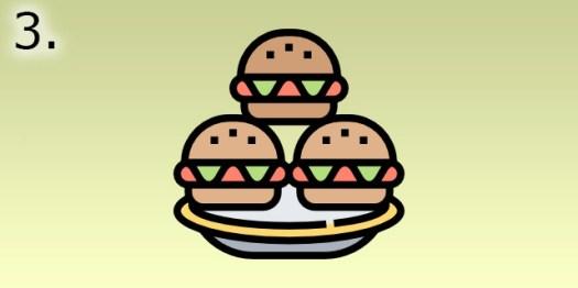 conseils pour perdre du poids manger des burgers