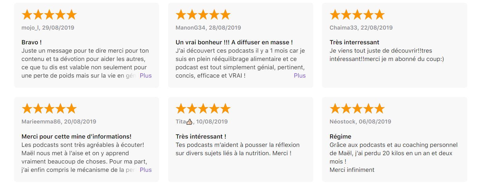 podcast rééquilibrage alimentaire