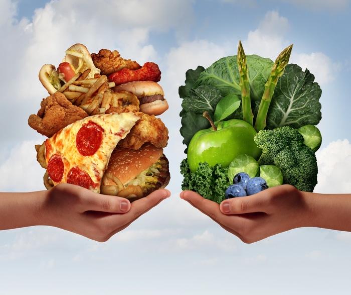 Changer son alimentation permet d'obtenir de véritable bénéfices