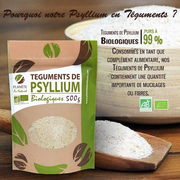 Le psyllium pour aider la digestion et perdre du ventre et de la graisse abdominale