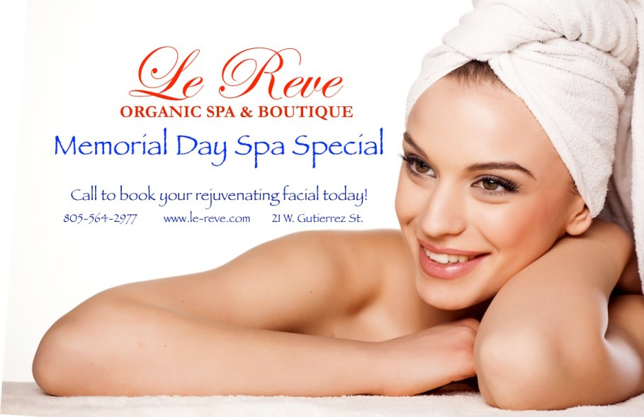 Memorial Day Facial Spa Special