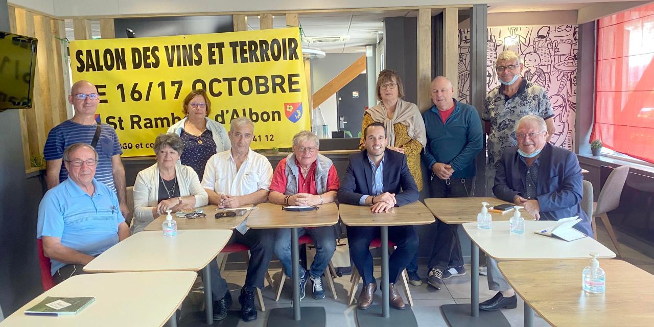 Saint-Rambert-d'Albon – Salon des vins, une première