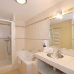 Family room with jacuzzi bathtub