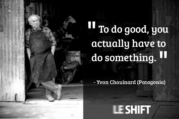yvon chouinard patagonia quotes to do good