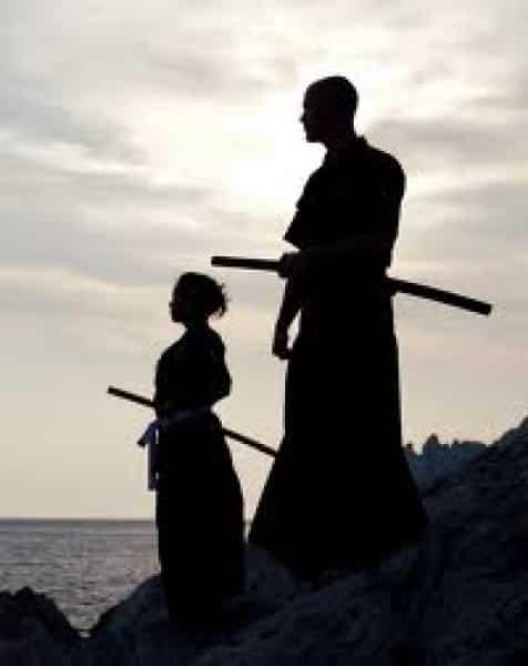 Relation sensei/élève : arts martiaux