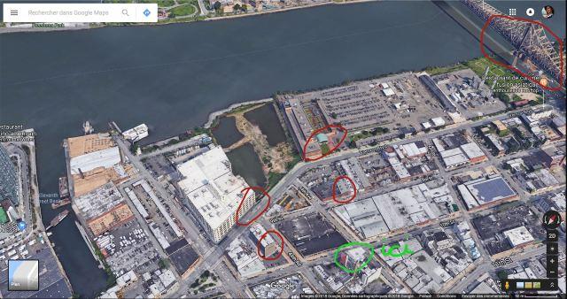 Elementary Google Maps quartier