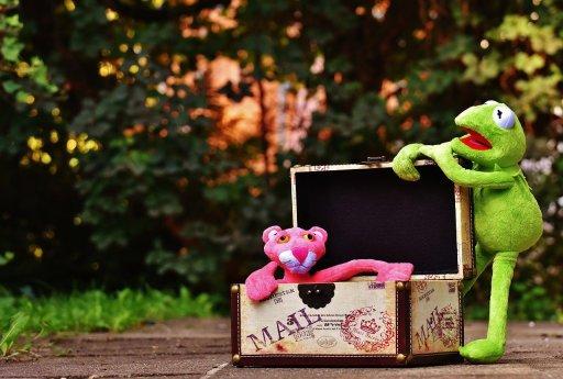 Kermit prépare ses vacances
