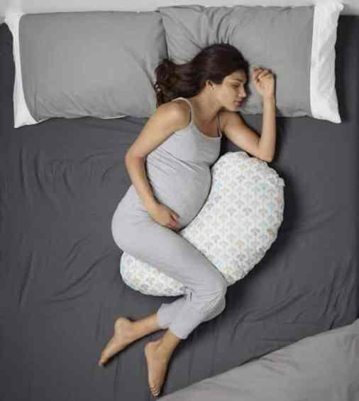 oreiller coussin de grossesse et d'allaitement
