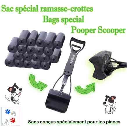 Meilleurs Sacs ramasse crottes spécial Pooper Scooper (waste bags)