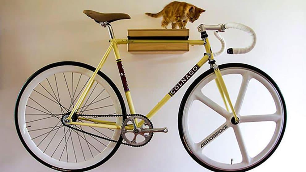 a i d bike holder support mural a velo