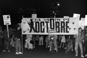 L'héritage d'Octobre 70: rêver d'absolu