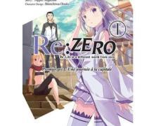 Re:Zero Présentation du manga
