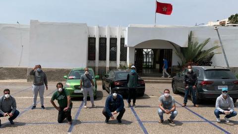 """كوفيد 19-الجريدة-الالكترونية-المغربية-مبادرة """"اليد فاليد -le12 أخبار علمية,أخبار كورونا,أخبار الصحة,كورونا"""