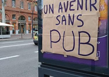 Toulouse : les anti-pub séduisent de plus en plus