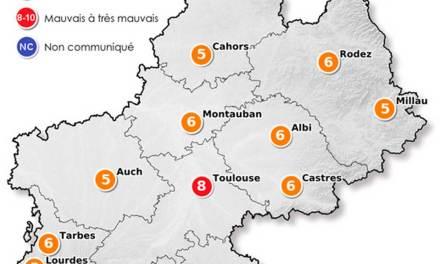 Toulouse, à nouveau sous la pollution