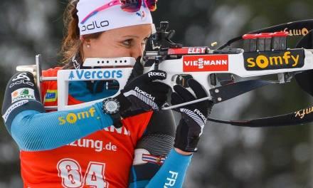 Biathlon : Anaïs Chevalier apporte la 2e médaille à l'Équipe de France