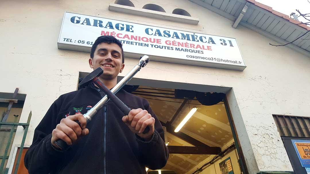 Félix, garagiste : «Je ne me voyais pas faire autre chose»