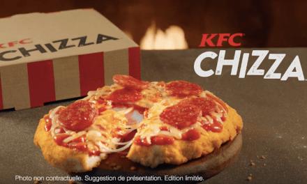 KFC : Les internautes se déchainent contre la «Chizza»