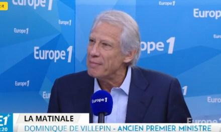 Dominique de Villepin : si François Fillon renonce, «c'est Alain Juppé qui doit prendre sa place»