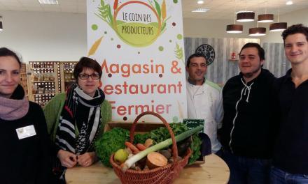 30 producteurs locaux dans les cuisines d'un restaurant toulousain