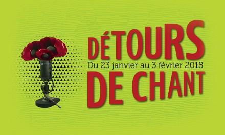 Festival Détours de chant : la musique francophone sous toutes ses formes