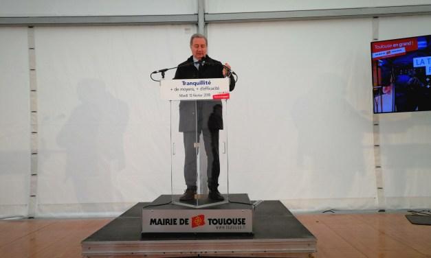 Jean-Luc Moudenc : «Les objectifs de sécurité et de tranquillité à Toulouse sont atteints»