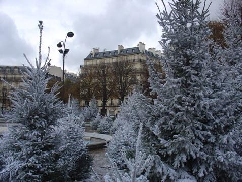 Paris, Hiver
