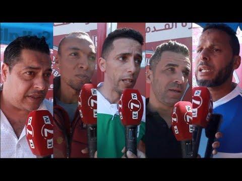 آراء لاعبي الرجاء والوداد سابقا بخصوص تكريم النجم السابق للمنتخب سعيد غاندي
