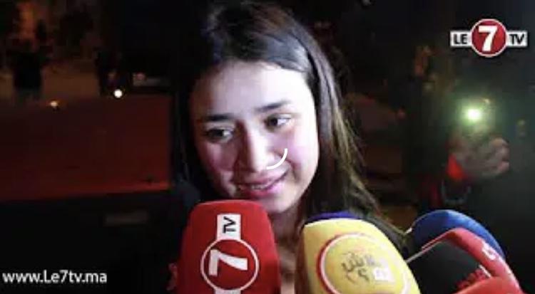"""أول فيديو بعد خروج """"ليلى"""" من السجن ضحية المحامي الشهير"""