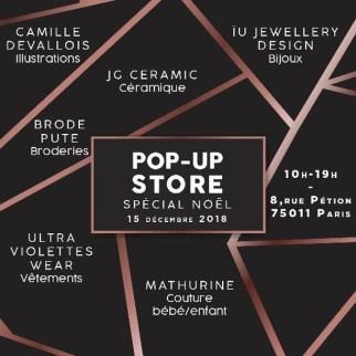 popup store Le 8 Petion spécial noël paris 75011