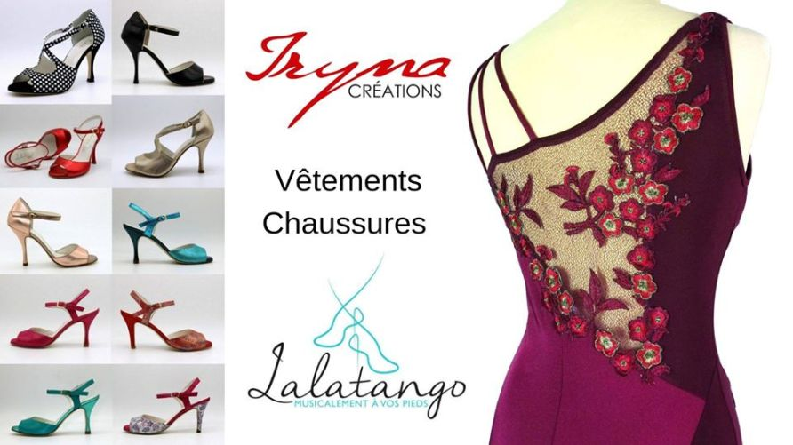 une vente éphémère de 3 jours de chaussures et vêtements de Tango au 8 Petion, salle à louer cosy parisienne