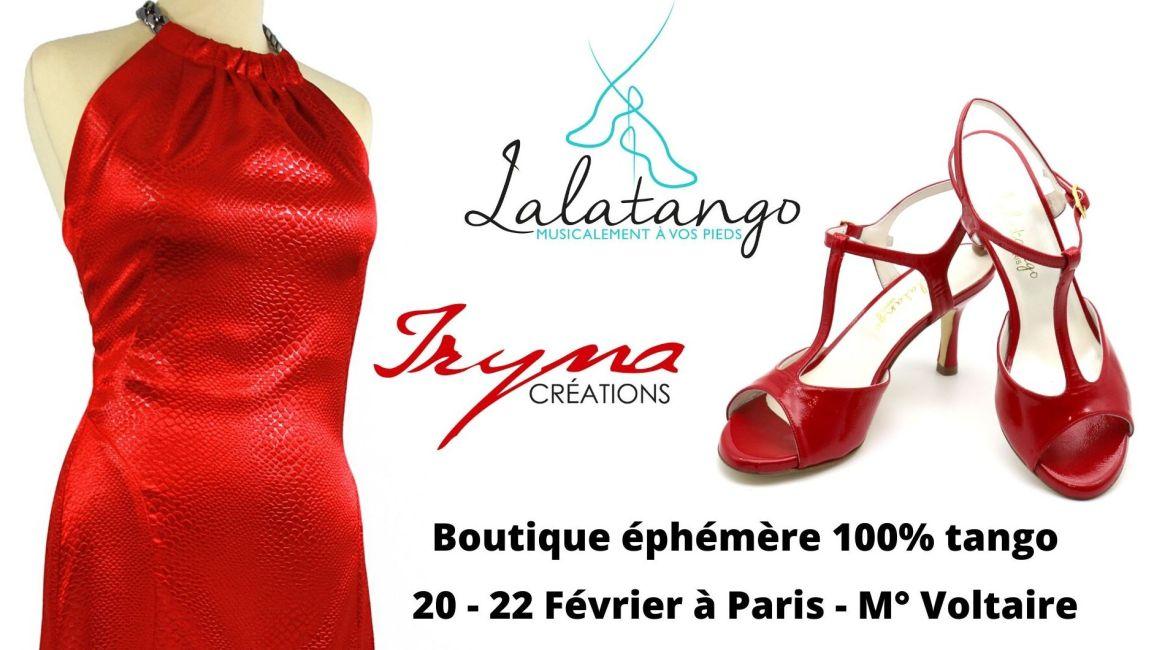une boutique éphémère 100% Tango au 8 Petion à Paris