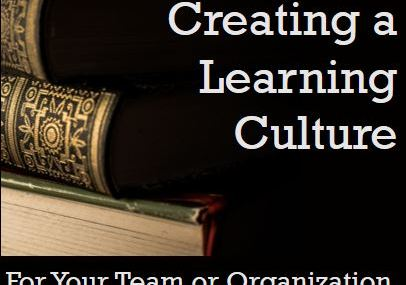 Creating a Learning Culture program