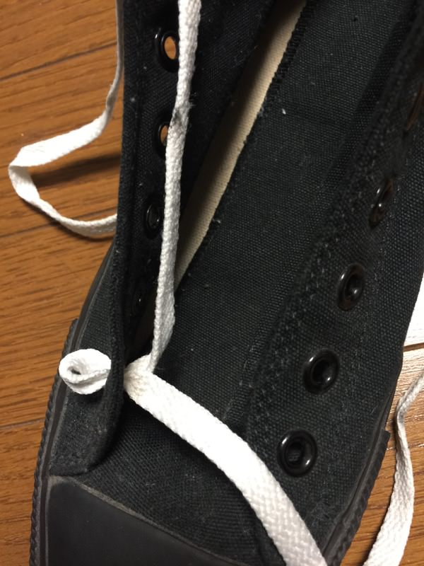 靴紐 星形