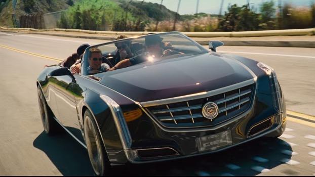 あの発売前のキャデラックの新型オープンカーが、ハリウッド映画に登場か!【動画アリ】  Leaddy (リーディー)
