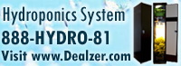 Dealzer ships hydroponic systems and lighting equipment to your door