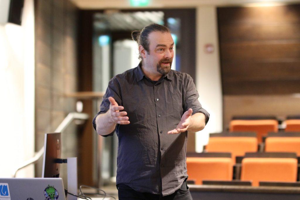 Henrik Kettunen föreläser om fiskevård
