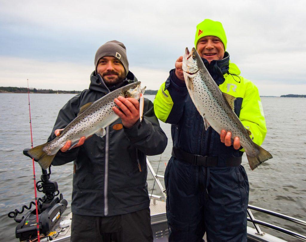 fiskar och Roger Nordlund
