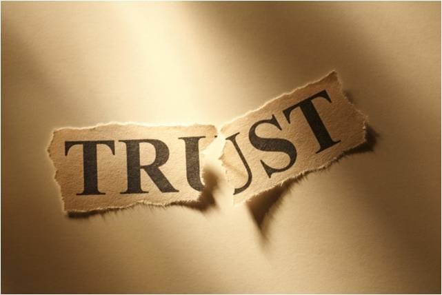 Image result for break trust