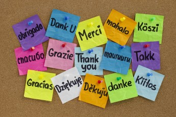 Thank You In Different Languages